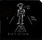 Jean-Michel BASQUIAT (1960-1988). The offs, 1984. Disque vinyl et pochette cartonnée, la pochette a été réalisée par Jean-Michel Basquiat, elle porte au dos la mention cover: Jean-Michel Basquiat. Assez bon état. Quelques usures d'état, traces de