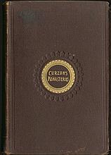 CURZON Robert,