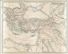 Turkish Empire (with) 1. Continuation of Map Part of Upper Egypt 2. Enlarged Plan of the Strait of Dardanelles 3. Enlarged Plan of the Bosporus. LI. A. Fullarton & Co. Edinburgh, London & Dublin, 1872