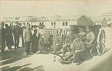 Real photo. Greek soldiers, unused.
