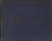 RHOMAIDES. c.1890. Photographic ALBUM entitled