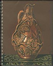 Etablissements Nicolas. Liste Des Grands Vins Fins. 1938. Bois En Couleurs De GALANIS. Spiral-bound. 50 pages with GALANIS designs.