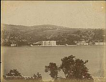 Constantinople c.1890. Albumen photo by Sebah & Joaillier with title on negative
