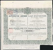 Bond Certificate for 100 gold dr. issued by