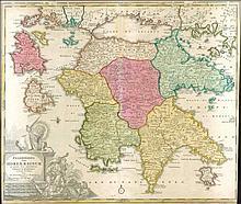 Two (2) maps by HOMANN J.B. & J.C.