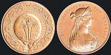850 Large bronze medal by Lange for