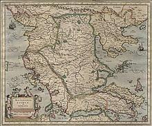 MERCATOR, G. Amsterdam 1638,