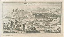 EPHESEN in Anatolie oft kleyn Asie / Gasp. Bouttats fecit, I. Peeters ex. 1685 copper engr. of Ephesus in Asia Minor from
