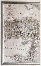 Carte Generale de la TURQUIE DASIE...1824 Vivien L., from