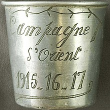 Featuring special section WWI Memorabilia - Trench Art
