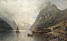 Ausfahrt in den Fjord