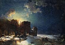 Winterliche Mondnacht