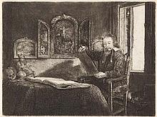 REMBRANDT HARMENSZ VAN RIJN  Der Apotheker Abraham Francken.