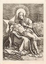 HENDRICK GOLTZIUS  Pietà.