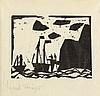 LYONEL FEININGER  Schiffe am Felsenstrand., Lyonel Charles Adrian Feininger, €3,000