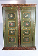 painted cabinet