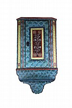 Hanging corner cabinet