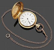 Savonette mit Uhrenkette
