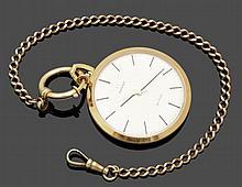 Omega-Frackuhr mit Uhrenkette