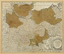 Johann Baptist Homann 1664 Kambach - 1724 Nür...