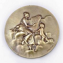Medaille Frankreich, 1900. - 'Monnaie de Pari...
