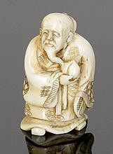 Netsuke Japan, 19. Jahrhundert. - Unsterblich...
