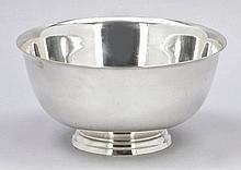 Fußschale Paul Revere attr. 925er Silber. Pun...