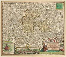 Johann Baptist Homann. 1664 Kambach - 172...