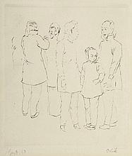 Emil Orlik 1870 Prag - 1932 Berlin - Japaner