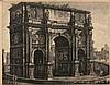 Luigi Rossini 1790 Ravenna - 1857 Rom - 'Vedu...