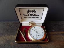 J. A. Wright Sorel Pocket Watch