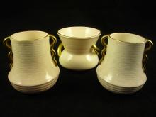 3-piece Carltonware Cabinet Vases
