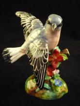 J.T. Jones Crown Staffordshire Porcelain Bird
