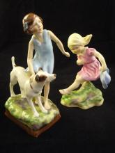 Two Royal Worcester Figurines