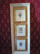 Three Framed Embroideries