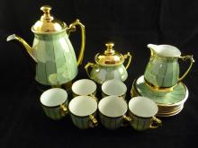 6-Setting Porcelain Tea Set