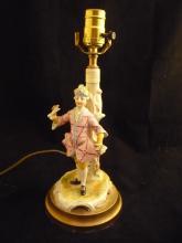 Figural Porcelain lamp