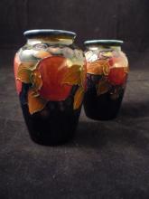 Pair of Moorcroft Cabinet Vases