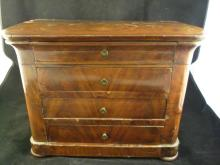 Ebenist's Apprentice Doll Size Commode Early 19th C.