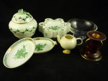 Miscellaneous Lot of Porcelain and Glass