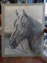 Rosa Bonheur Print of Horse