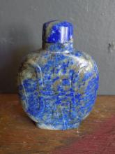 Lapis Snuff Bottle