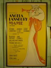 Mame Broadway Musical Poster Ca. 1966