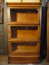 3/4 Size Barrister Bookcase