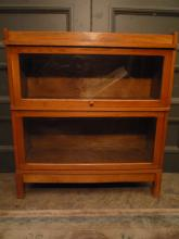 Mid-Century Two-tier Barrister Bookcase