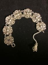 Austro-Hungarian Heavily Worked Bracelet