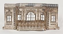 Magnificent Hanukkah Lamp - Eastern Europe, 19th Century - Unique Architectural Model