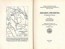 Studies by Alois Musil - Three Volumes / Maps