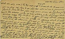 Abraham Moses Luncz - Letter about his Books - Jerusalem, 1884