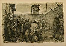 Leo Haas - A Dozen Lithographs - the Holocaust - Prague, 1947